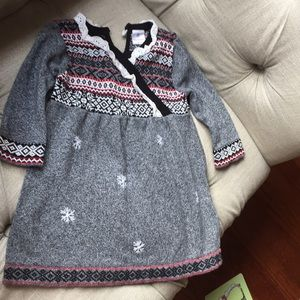 Hanna Anderson winter dress size 80
